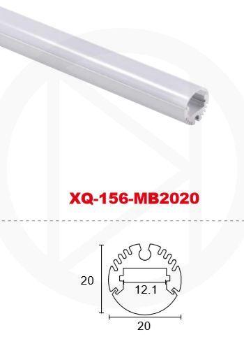 Профиль алюминиевый XQ-156-MB2020 (2m)