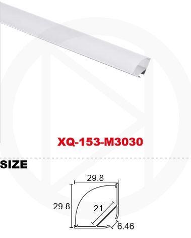 Профиль алюминиевый XQ-153-M3030 (2м)