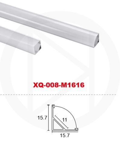 Профиль алюминиевый XQ-008-M1616 (2м)