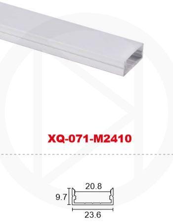 Профиль алюминиевый XQ-071-M2410 (2м)